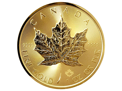 Royal Canadian mint gold coin